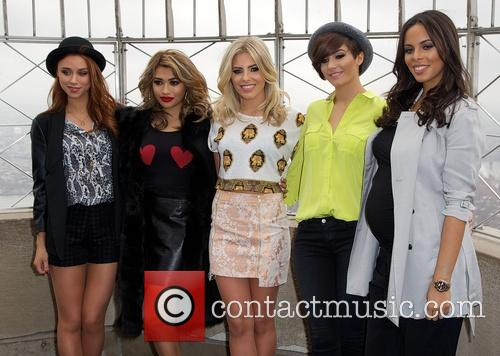Una Healy, Vanessa White, Mollie King, Frankie Sandford, Rochelle Humes and Rochelle Wiseman 4