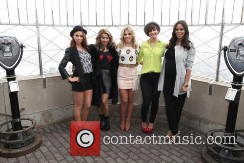 Una Healy, Vanessa White, Mollie King, Frankie Sandford, Rochelle Humes and Rochelle Wiseman 6