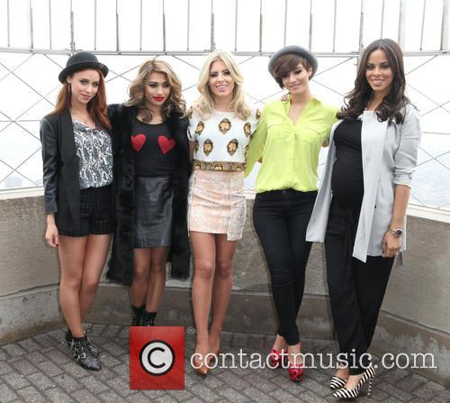 Una Healy, Vanessa White, Mollie King, Frankie Sandford, Rochelle Humes and Rochelle Wiseman 7