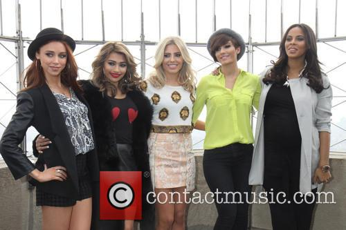 Una Healy, Vanessa White, Mollie King, Frankie Sandford, Rochelle Humes and Rochelle Wiseman 3