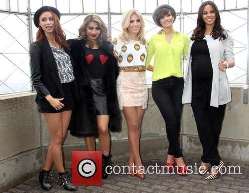 Una Healy, Vanessa White, Mollie King, Frankie Sandford, Rochelle Humes and Rochelle Wiseman 5