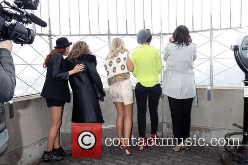 Una Healy, Vanessa White, Mollie King, Frankie Sandford, Rochelle Humes and Rochelle Wiseman 1