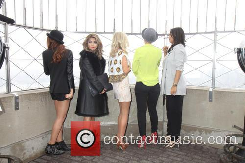 Una Healy, Vanessa White, Mollie King, Frankie Sandford, Rochelle Humes and Rochelle Wiseman 8