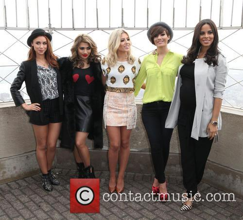 Una Healy, Vanessa White, Mollie King, Frankie Sandford, Rochelle Humes and Rochelle Wiseman 11