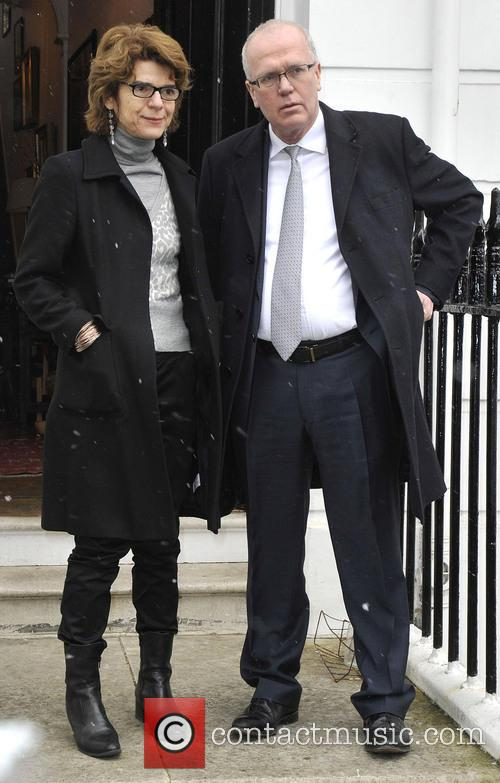 Vicky Pryce outside her London home