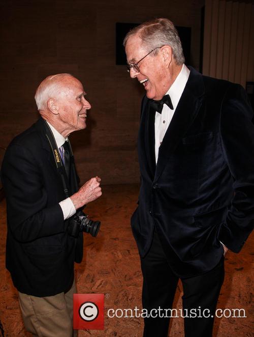 David Koch and Bill Cunningham 4