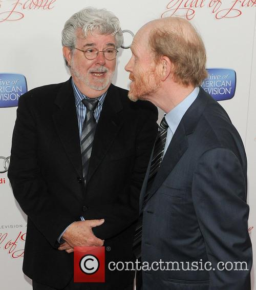 George Lucas and Ron Howard 2