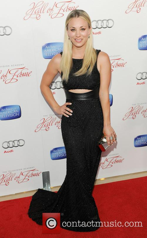 Kaley Cuoco, Beverly Hilton Hotel