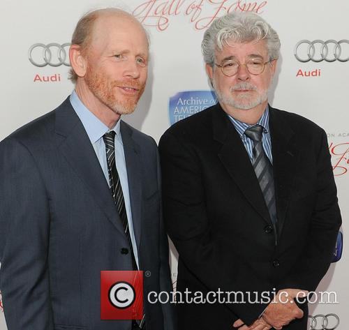 Ron Howard and George Lucas 9