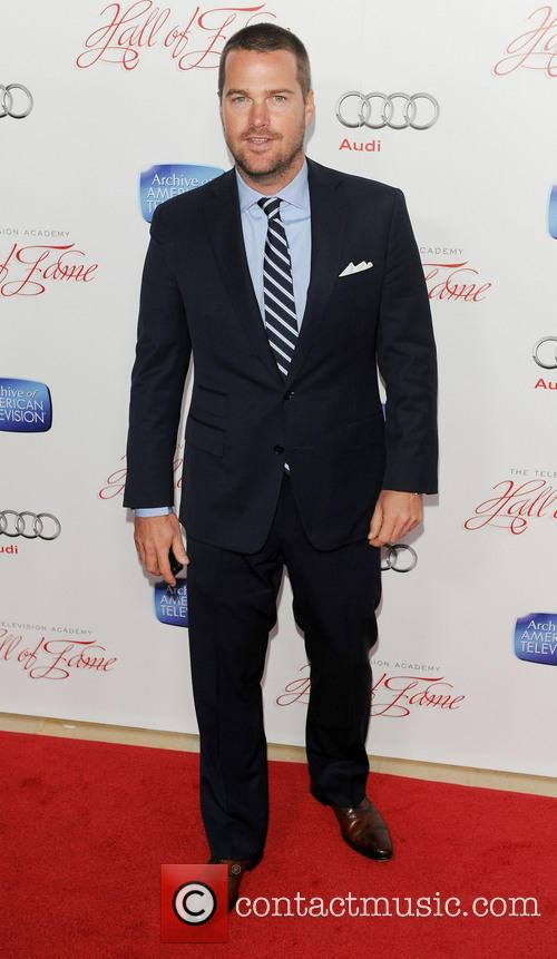 Chris O'Donnell, Beverly Hilton Hotel