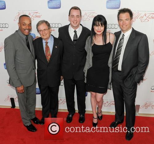 David Mccallum, Sean Murray, Pauley Perrette and Michael Weatherly 1