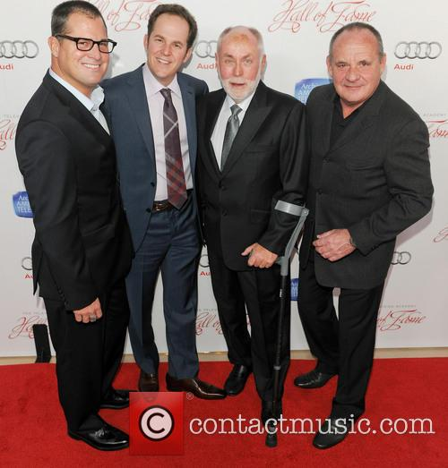 George Eads, David Berman, Robert David Hall and Paul Guilfoyle 2
