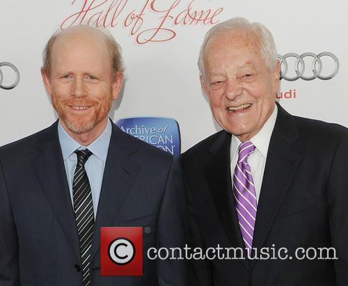 Ron Howard and Bob Schieffer 2