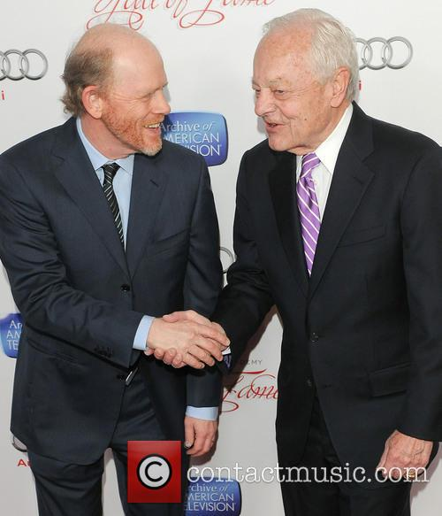 Ron Howard and Bob Schieffer 3