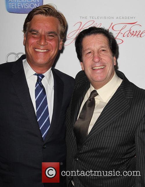 Aaron Sorkin and Peter Roth 7