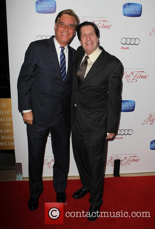 Aaron Sorkin and Peter Roth 9