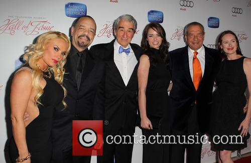 Coco Austin, Ice-t, Sam Waterston, Dick Wolf and Guests 4