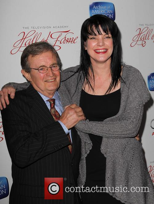 Pauley Perrette and David Mccallum 5