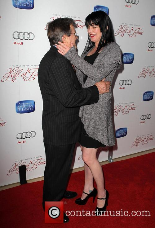 David Mccallum and Pauley Perrette 6