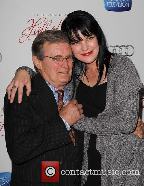 Pauley Perrette and David Mccallum 8