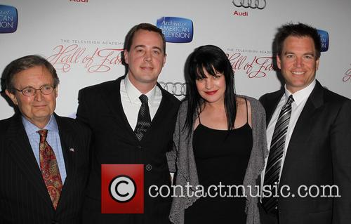 David Mccallum, Sean Murray, Pauley Perrette and Michael Weatherly 4