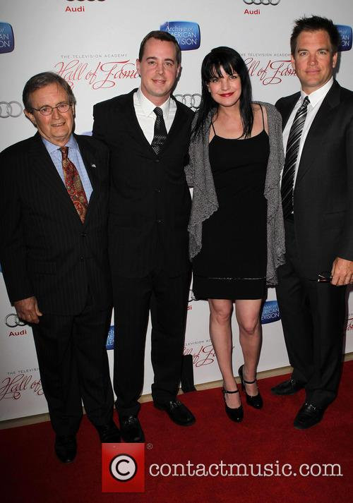 Pauley Perrette, Sean Murray, David Mccallum and Michael Weatherly 9