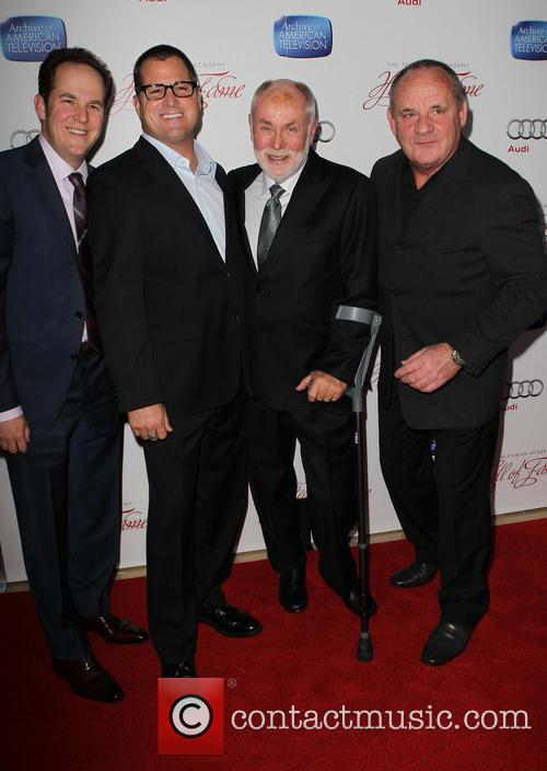 George Eads, David Berman, Robert David Hall and Paul Guilfoyle 1