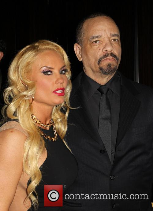 Ice-T, Coco Austin, Beverly Hilton Hotel