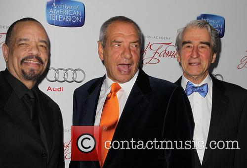 Ice-t, Sam Waterston and Dick Wolf 8