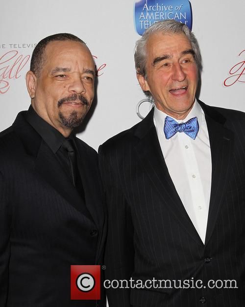 Ice-t and Sam Waterston 11