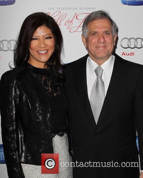 Julie Chen and Leslie Moonves 9
