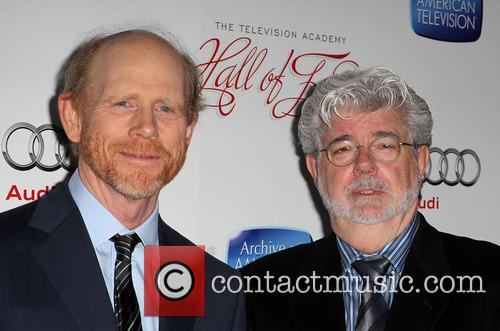 Ron Howard, George Lucas, Beverly Hilton Hotel