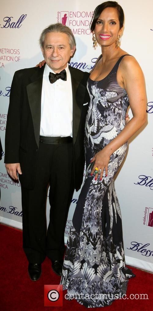 Foundation Founder Md, Tamer Seckin and Padma Lakshmi 6