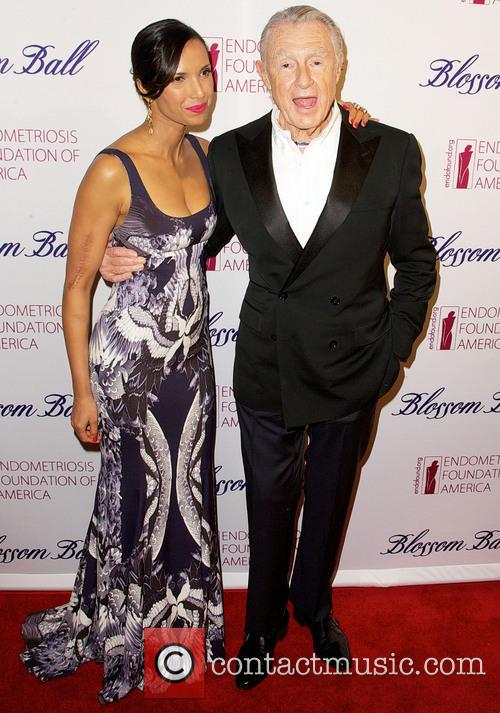Padma Lakshmi and Joel Schumacher 11