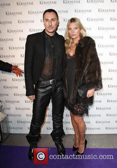 Kate Moss At L'Oreal Kerastase Event