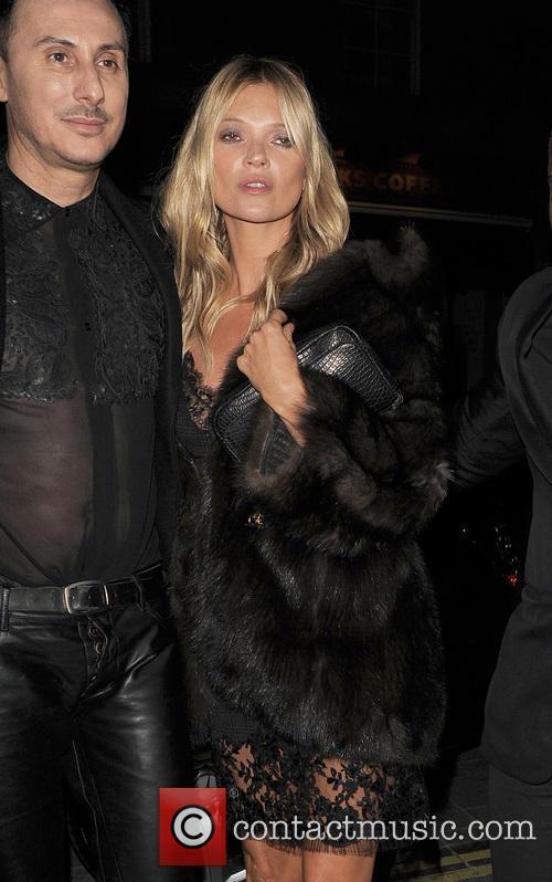 Kate Moss At Kerastase Party