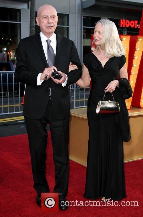 Alan Arkin and Wife Suzanne Newlander Arkin 2