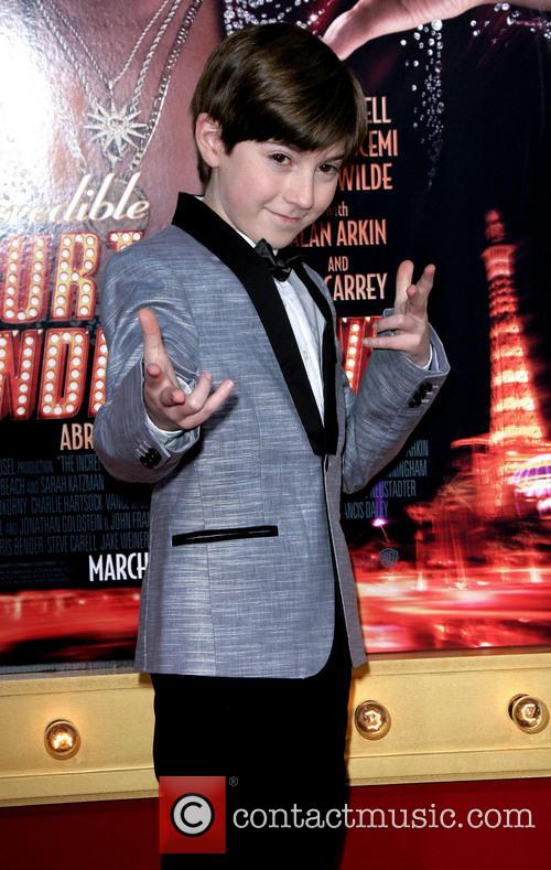 Mason Cook - young Burt Wonderstone