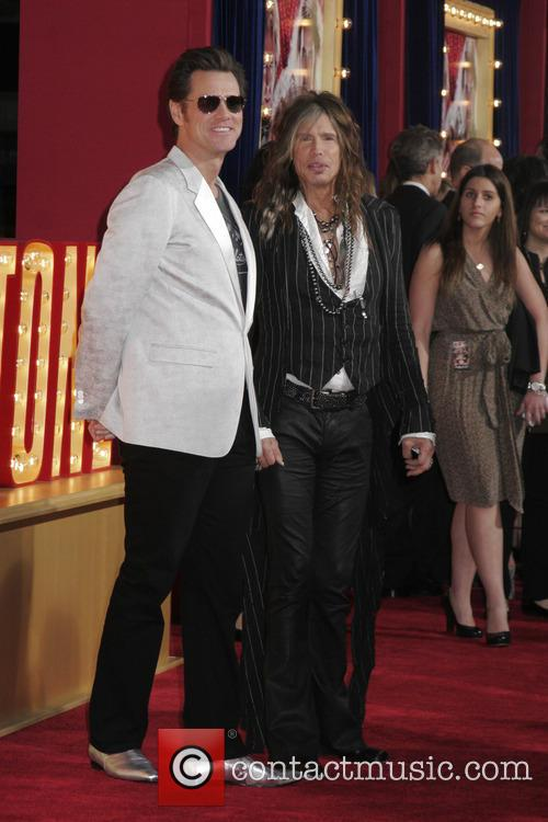 Jim Carrey and Steven Tyler