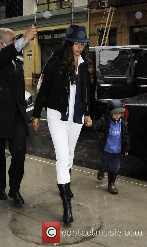 Camila Alves and Levi Alves Mcconaughey 5
