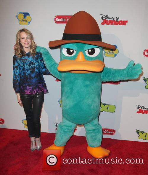 Agent P, Aka Platypus and Bridgit Mendler 2