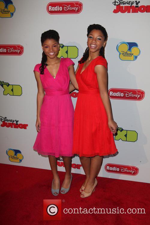 Halle Bailey and Chloe Bailey 3