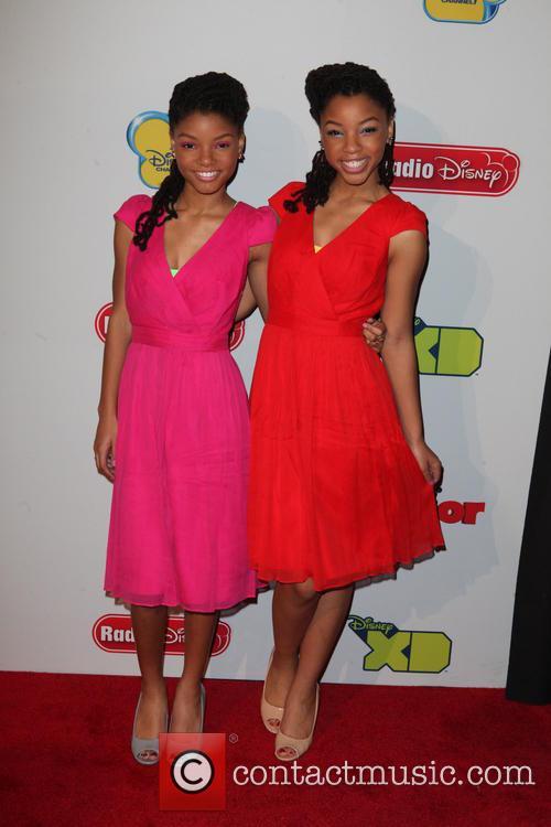 Halle Bailey and Chloe Bailey 4