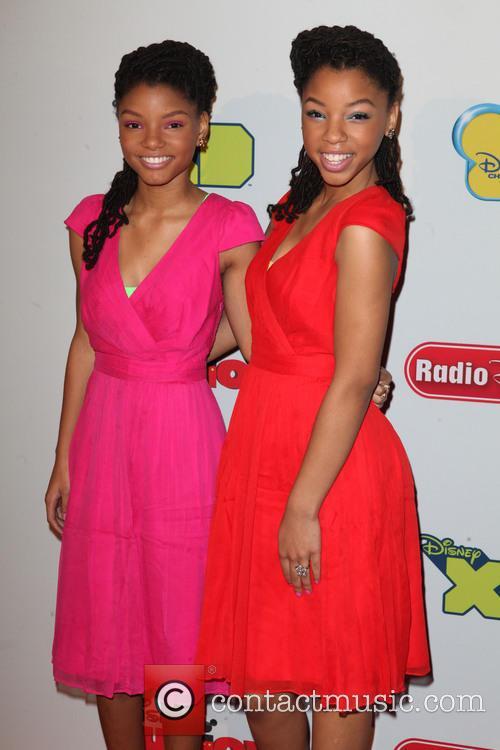 Halle Bailey and Chloe Bailey 5