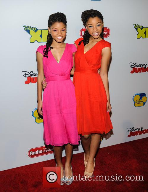halle bailey chloe bailey abc disney upfronts 3552573