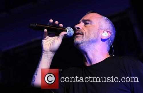 Eros Ramazzotti performs at the Mediolanum forum