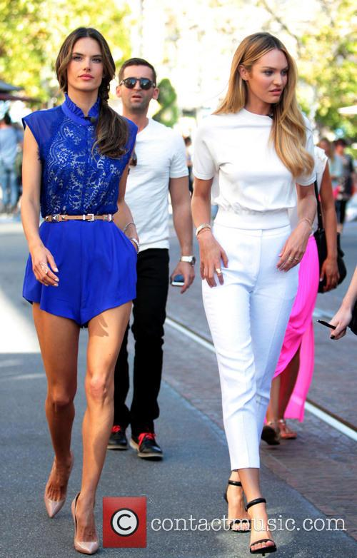 Alessandra Ambrosio and Candice Swanepoel 2
