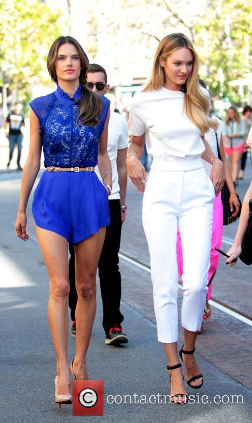 Alessandra Ambrosio and Candice Swanepoel 1