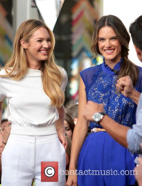 Candice Swanepoel and Alessandra Ambrosio 5