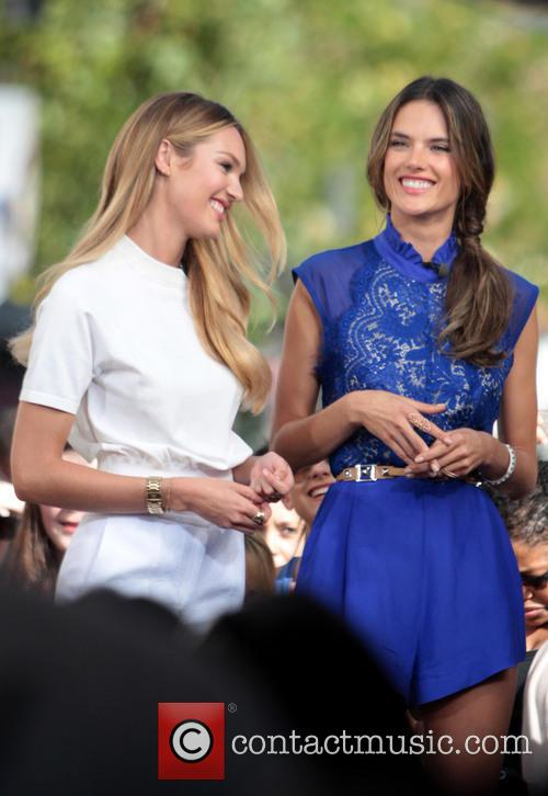 Candice Swanepoel and Alessandra Ambrosio 8